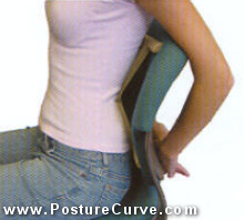 Reach Back and Breathe for Posture Traction